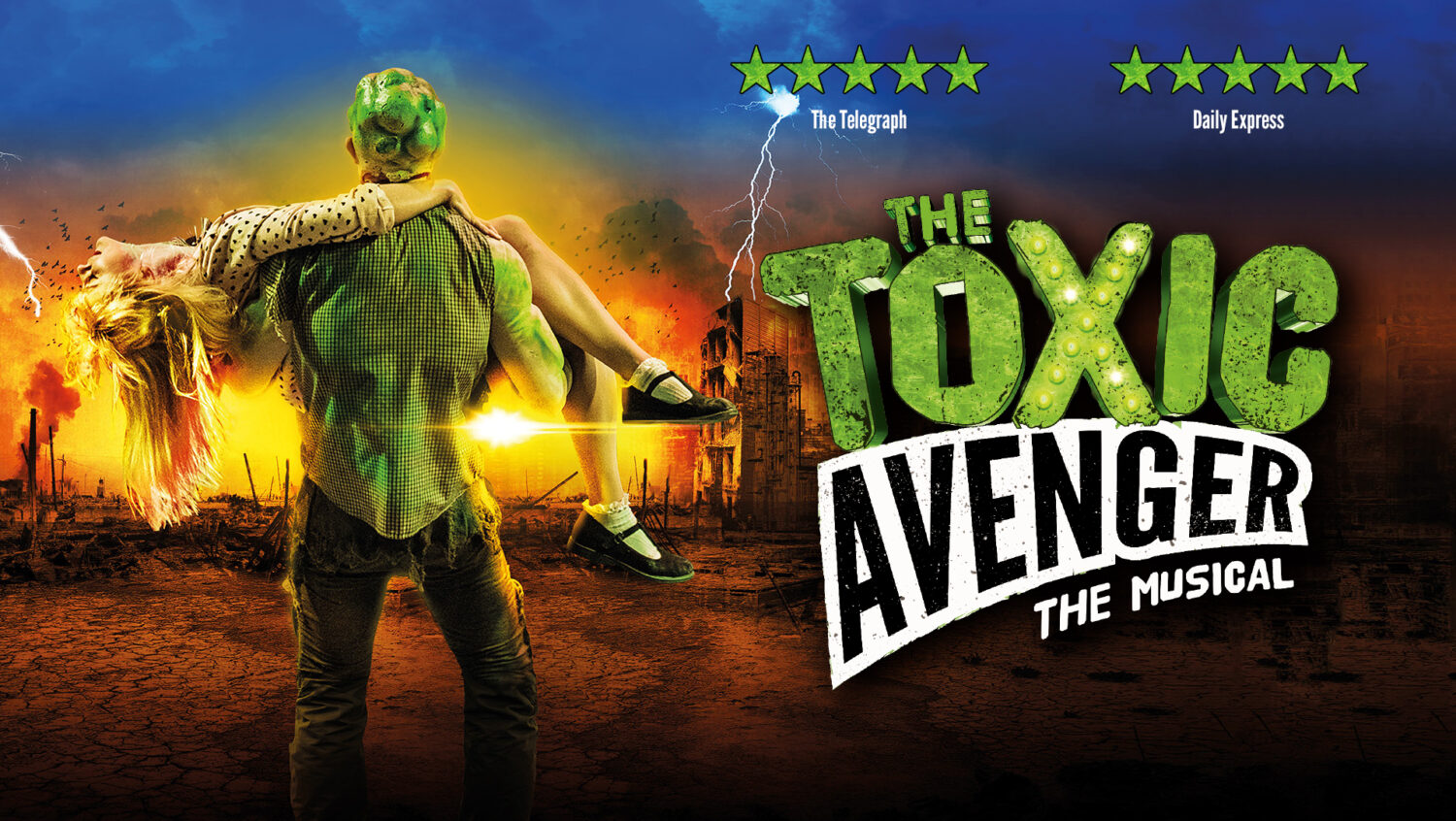 The Toxic Avenger - Stream now on Stage 2 View
